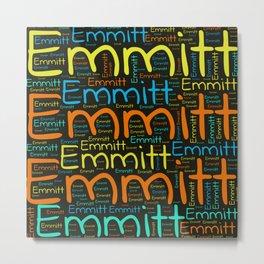 Emmitt Metal Print