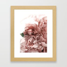 Blush Pink Floral Gerahmter Kunstdruck