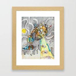RoboBoy Framed Art Print