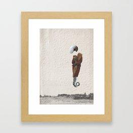 the ? Framed Art Print