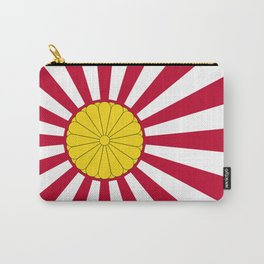 Japanese Flag And Inperial Seal Carry-All Pouch
