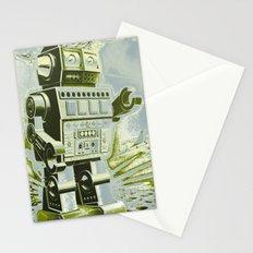 Robot Wars Pop Art Stationery Cards