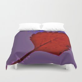 BE LIKE A LEAF #6 Duvet Cover