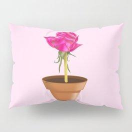 Little Pink Rose Pillow Sham