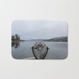 View Of Lake George NY Bath Mat
