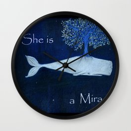 She is a miracle Wall Clock