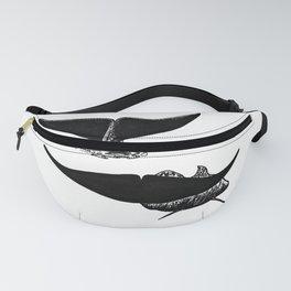 Whale flukes Fanny Pack