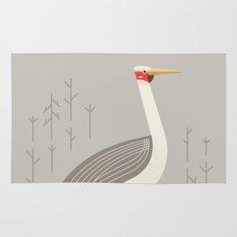 Brolga, Bird of Australia Rug