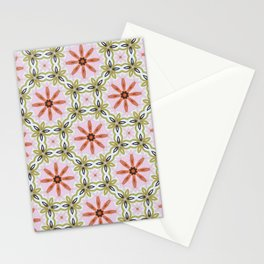 Pink Peppermint Patty Stationery Cards