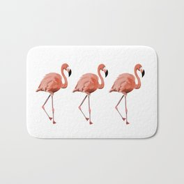A Flamboyance of Flamingoes - Flamenco - 57 Montgomery Ave Bath Mat