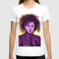 johnny depp T-shirts featuring Edward Scissorhands (Johnny Depp) by Art of Fernie