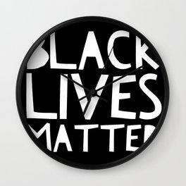 Black Lives Matter 3 Wall Clock