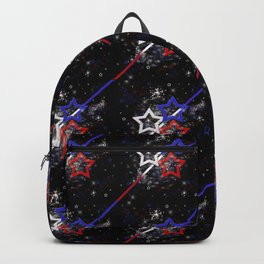 Stars and Stripes Pattern Backpack