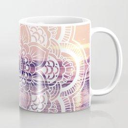 Water Mandala Amethyst & Mauve Coffee Mug