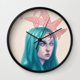 Heavy Thoughts Wall Clock
