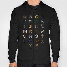 Star W. alphabet Hoody