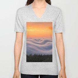 Mount Tamalpais State Park in California USA Unisex V-Neck