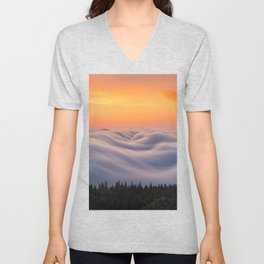 Mount Tamalpais State Park in California USA Unisex V-Neck