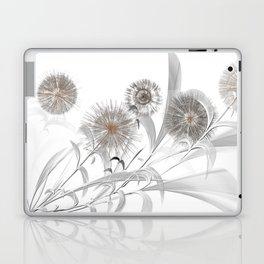 Graphic Design Dandelion Abstract Flowers Laptop & iPad Skin