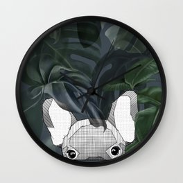 Jungle frenchy Wall Clock