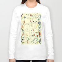 japan Long Sleeve T-shirts featuring Japan by March Hunger