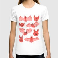 bats T-shirts featuring Bats by Jack Teagle