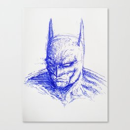The Bat-Man Canvas Print