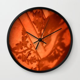 Heart Shadows Wall Clock