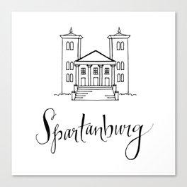 Spartanburg Canvas Print