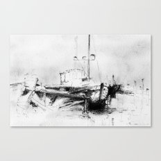 Pirates of the Baltic-sea Canvas Print
