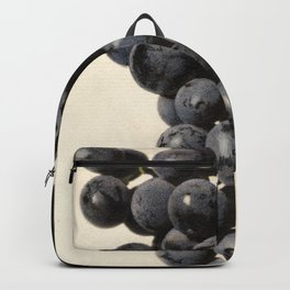 Vintage Concord Grapes Illustration Backpack