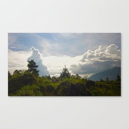Invasion Of Clouds Canvas Print