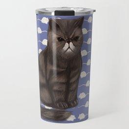 Cranky Cat / Shitty Kitty Travel Mug