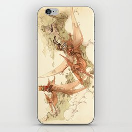 At the End of the World iPhone Skin