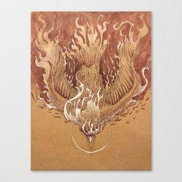 Flight to Destiny Canvas Print