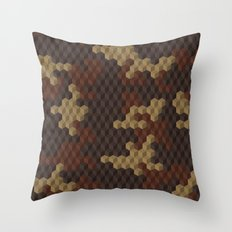 CUBOUFLAGE LUXE Throw Pillow