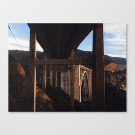 Bixby Canyon Bridge Canvas Print