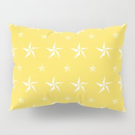 Stella Polaris Golden Yellow Design Pillow Sham