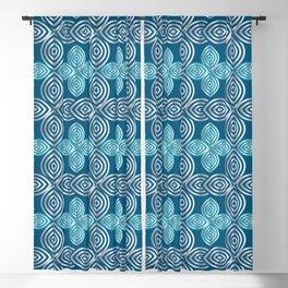 Pretty Confusion in Silver Blackout Curtain