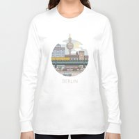 berlin Long Sleeve T-shirts featuring Berlin by fabric8