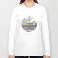 berlin Long Sleeve T-shirts featuring Berlin by fabric8