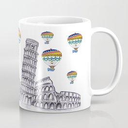 Travel with Air Balloons Coffee Mug