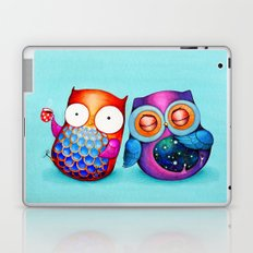 Night and Day Owls Laptop & iPad Skin