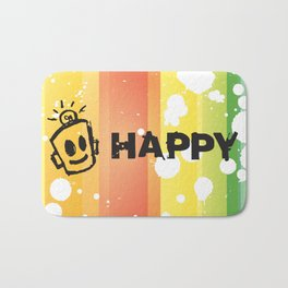 HAPPY  Bath Mat