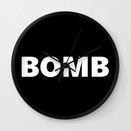 bomb Wall Clock