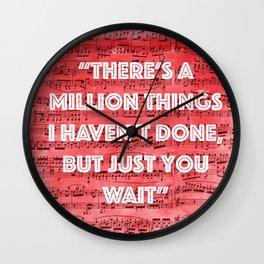 Million Things Wall Clock