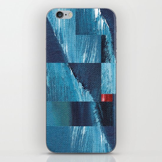 Cracking Waves (Distant Shore) iPhone & iPod Skin