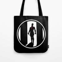daredevil Tote Bags featuring Daredevil by Comix