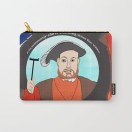 King Henry VIII Plays Shuffle Carry-All Pouch
