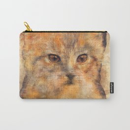 Ginger cat art Carry-All Pouch
